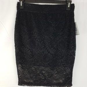 SUSINA lace skirt